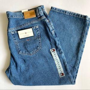 NWT Tommy Hilfiger Cropped Boyfriend Jeans Sz 14